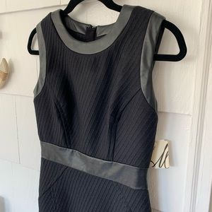 NWT MILLY- Combo Trim Sheath mini dress size 4